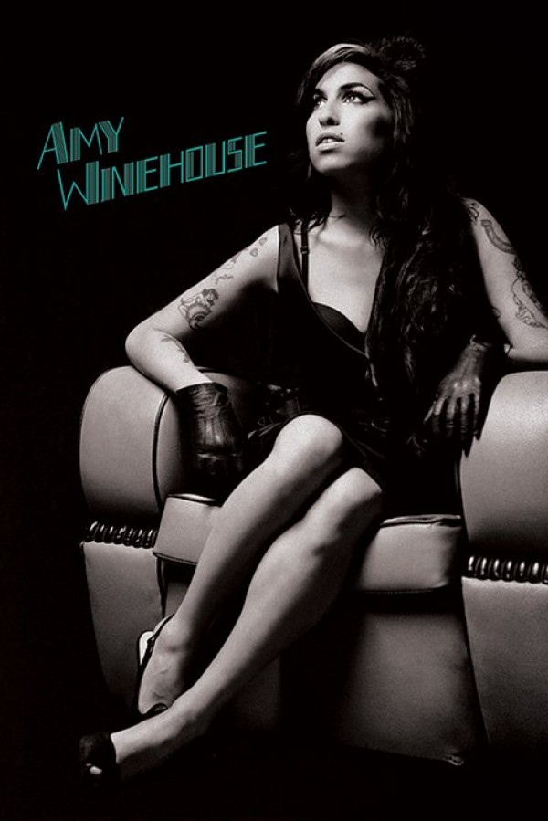 Amy Winehouse (Chair) Poster