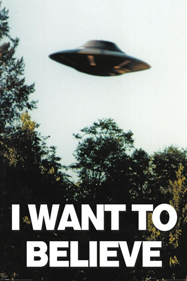 Maxi Poster PP33840  size 91.5 x 61cm The X-Files I Want to Believe