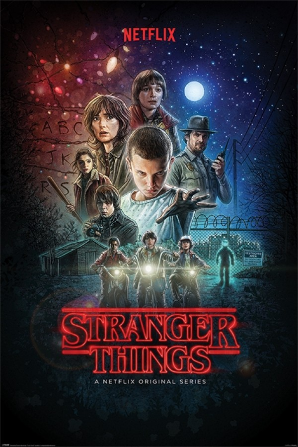 Stranger Things (Characters) Poster