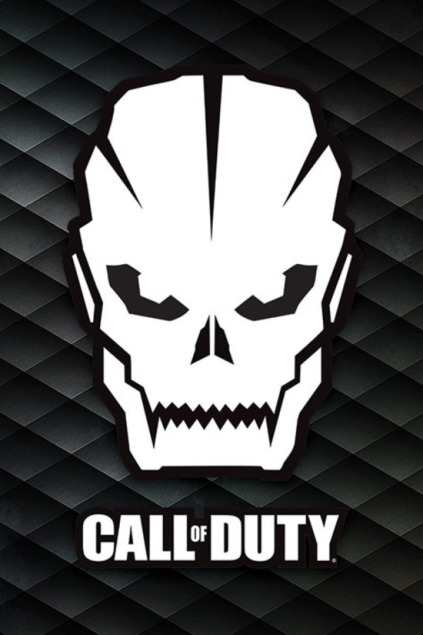 Call Of Duty (Skull) Poster