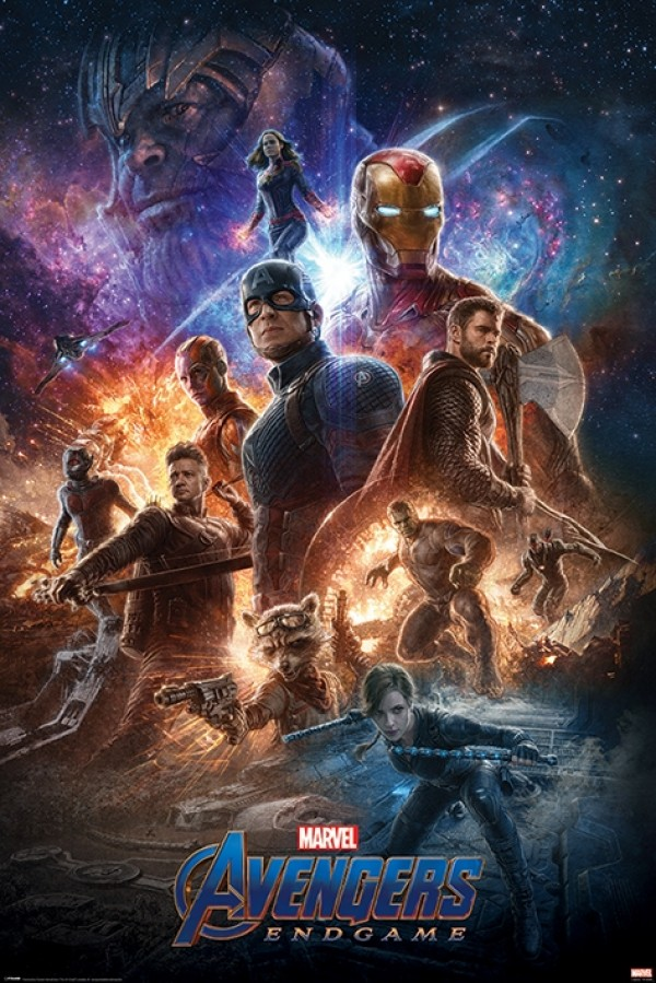 Avengers Endgame (From The Ashes) Poster