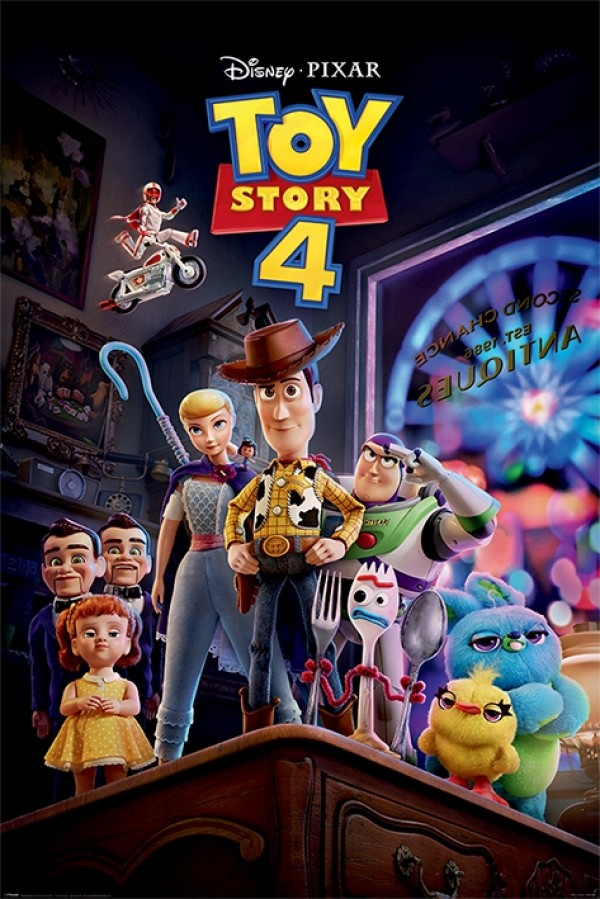 Toy Story 4 (Antique Shop Anarchy) Poster