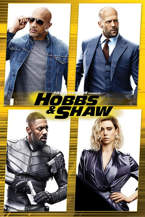 Fast & Furious Presents: Hobbs & Shaw (Cast) Poster