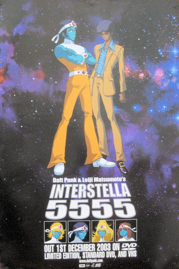 Daft Punk Interstella 5555 Poster (Octave)