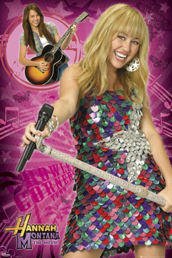 Hannah Montana Posters Miley Cyrus Hannah Montana Movie Poster Fp2243 Panic Posters