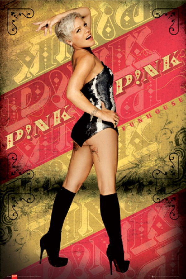 Pink Funhouse Poster