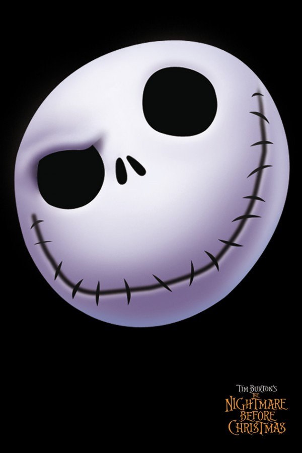 nightmare before christmas jack face poster - The Nightmare Before Christmas Poster