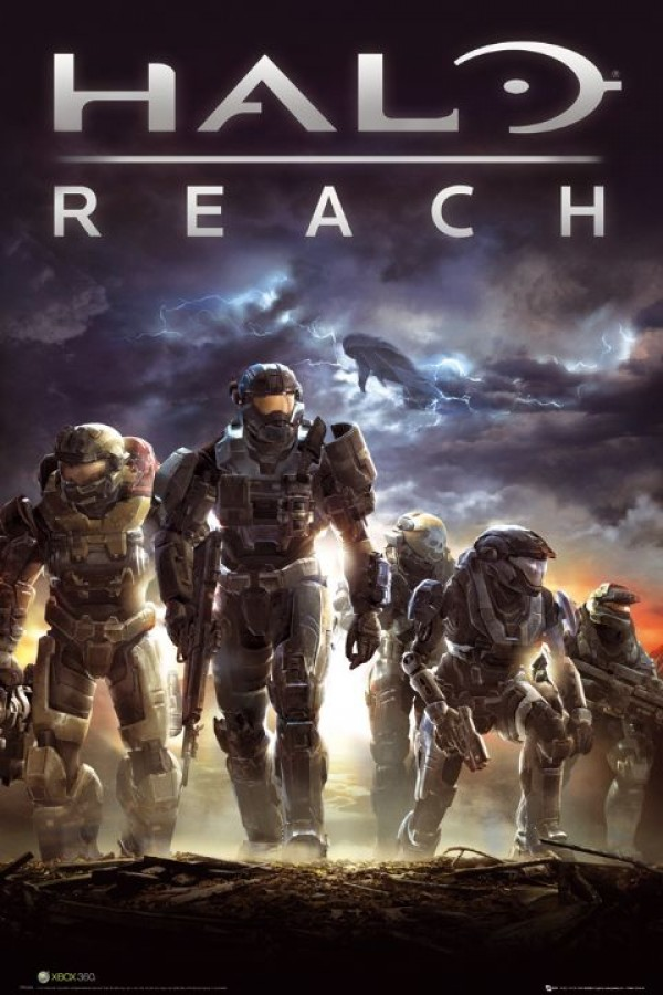 halo posters - halo reach cover poster fp2475