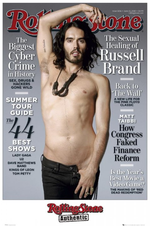 Russell Brand Rolling Stone Poster