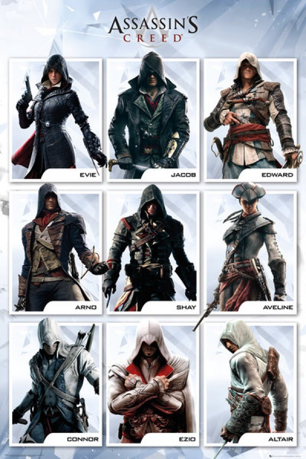 Assassins Creed (Compilation) Poster