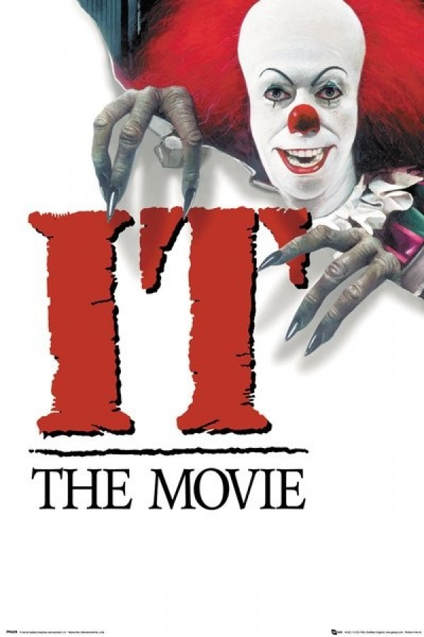 IT Movie posters - IT Pennywise (1990 Key Art) poster ...