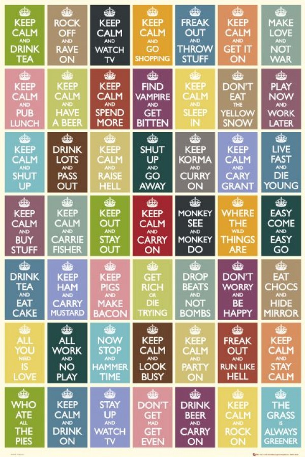Keep Calm & Carry On (Compilation) Poster