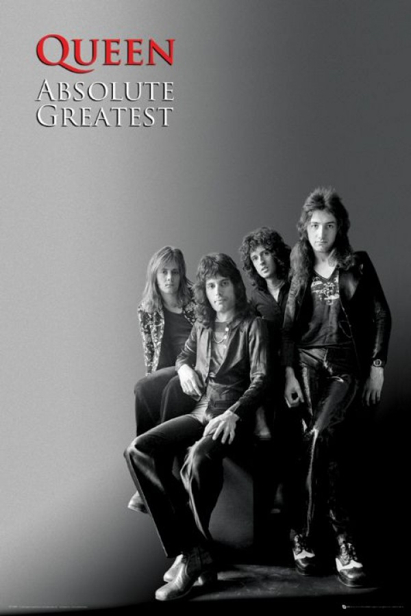 Queen Absolute Greatest Poster