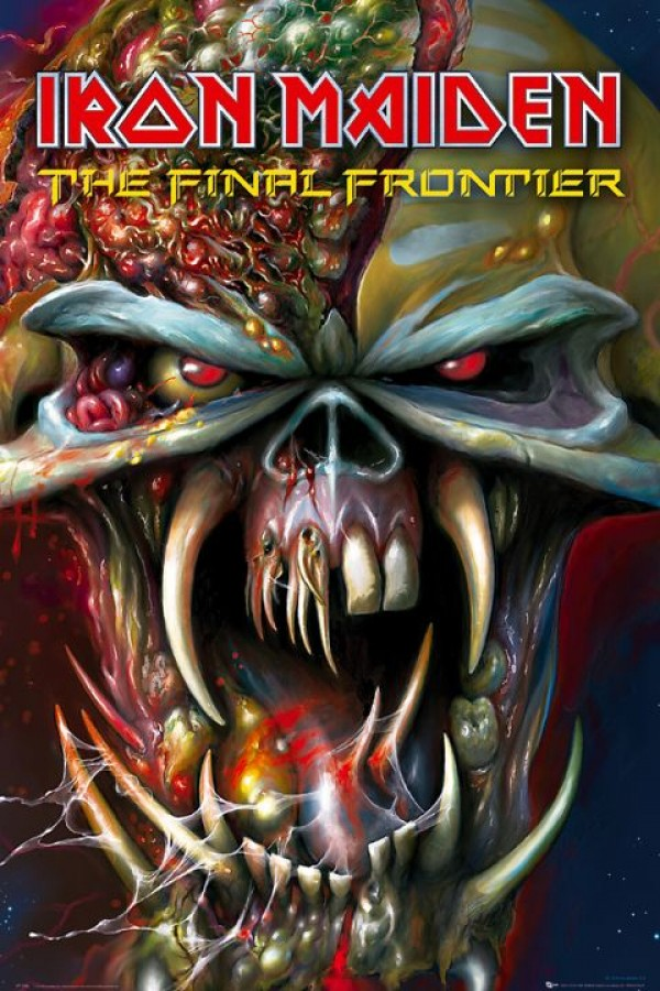 Iron Maiden Final Frontier Poster