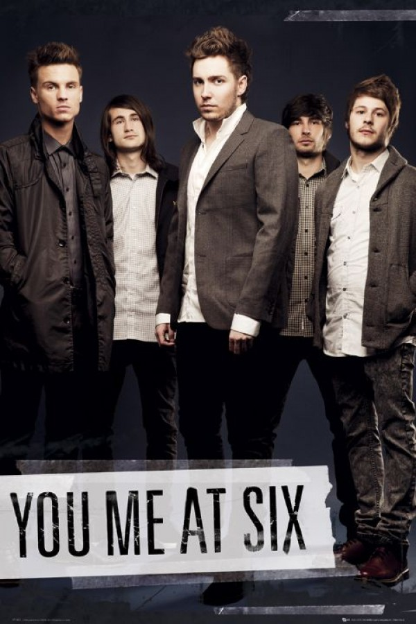 You Me At Six (Tape) Poster