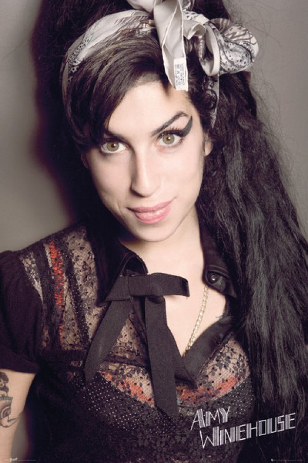 Amy Winehouse (Portrait) Poster
