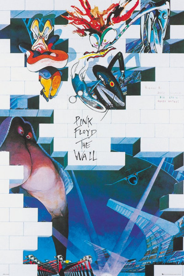 Pink Floyd posters - Pink Floyd The Wall poster LP2015 ...
