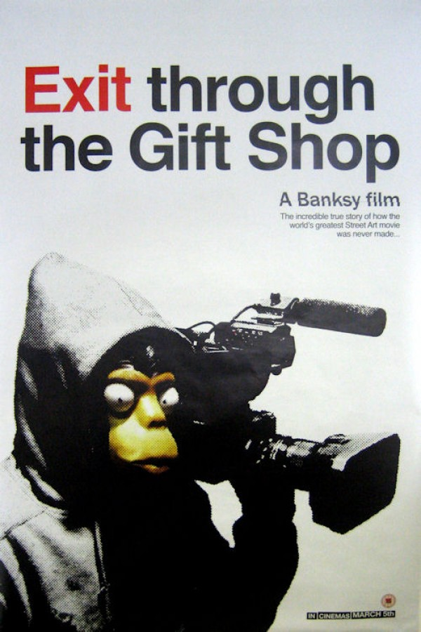 Banksy Exit Through The Gift Shop Giant Promo Poster
