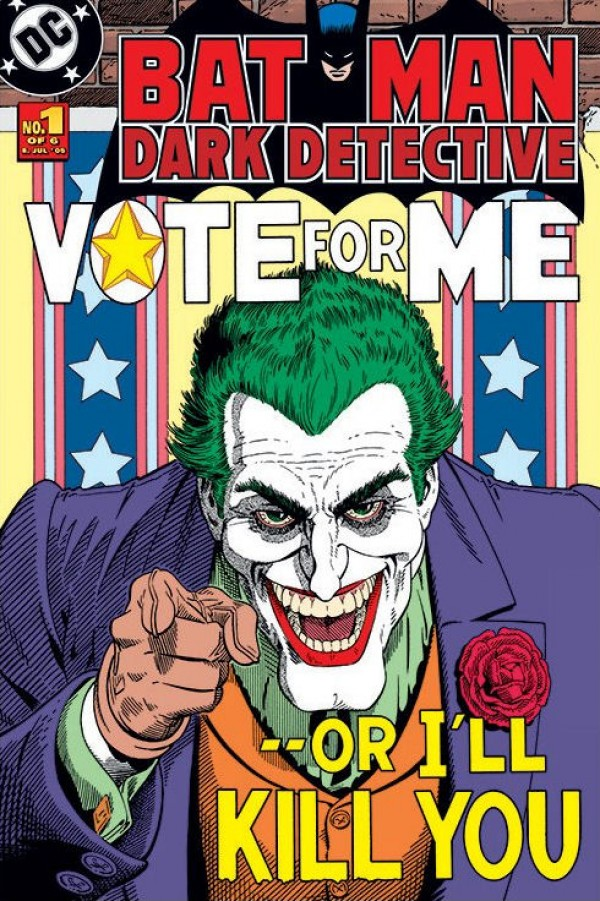Batman Joker (Vote) Poster
