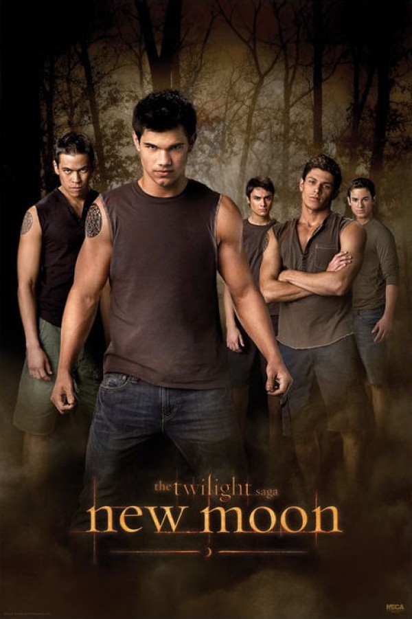 Twilight New Moon Wolf Pack Poster