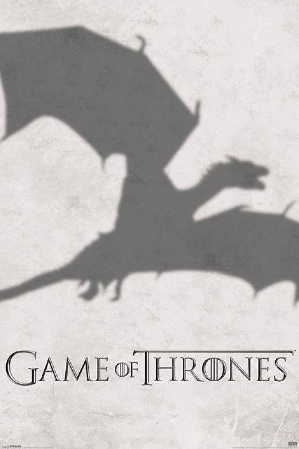 Game Of Thrones Dragon Shadow Poster
