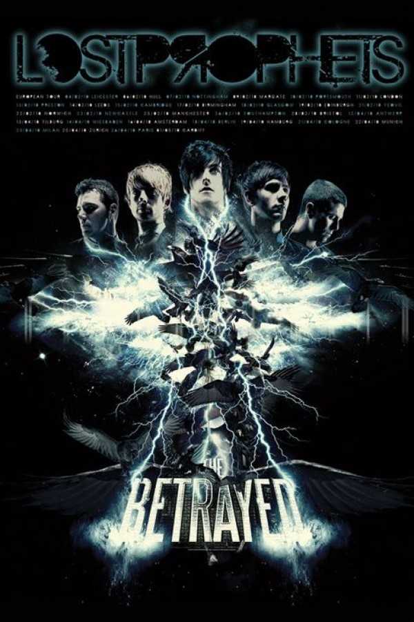 Lostprophets The Betrayed Poster