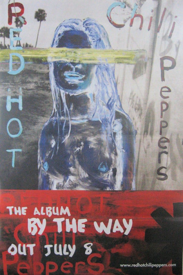 Red Hot Chili Peppers By The Way Giant Promo Poster