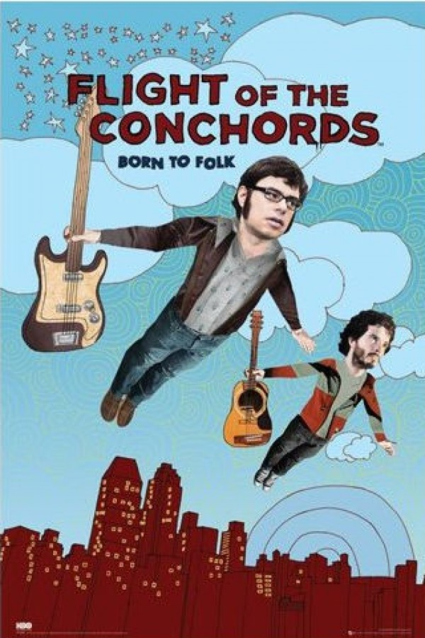 Flight Of The Conchords Season Two Poster