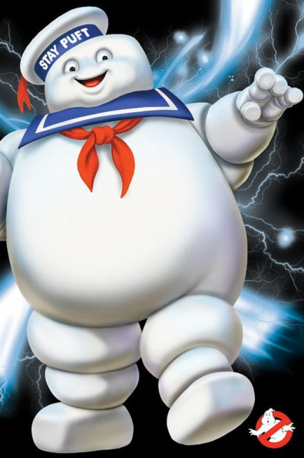 Ghostbusters Stay Puft Poster