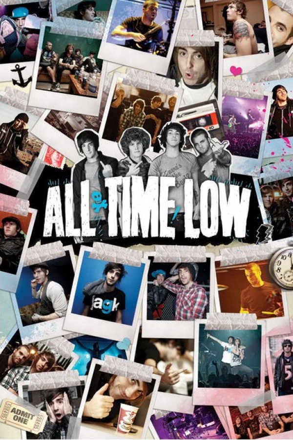 All Time Low On Tour Poster