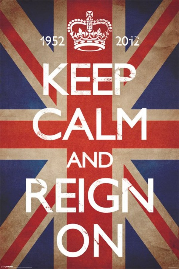 Keep Calm & Reign On Poster