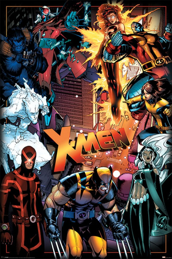 Marvel X Men Posters X Men Characters Poster Pp34117