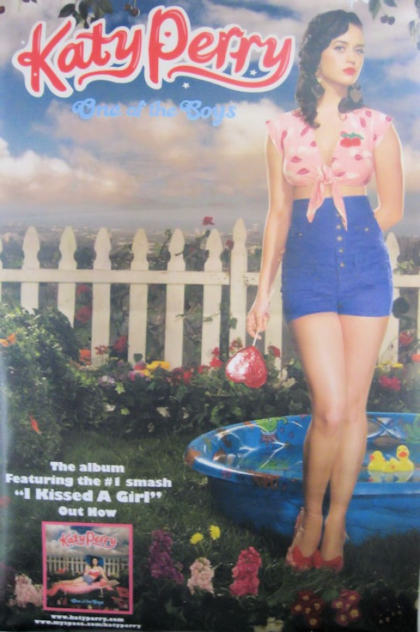 Katy Perry One Of The Boys Giant Promo Poster