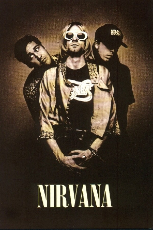Nirvana Group Giant Poster