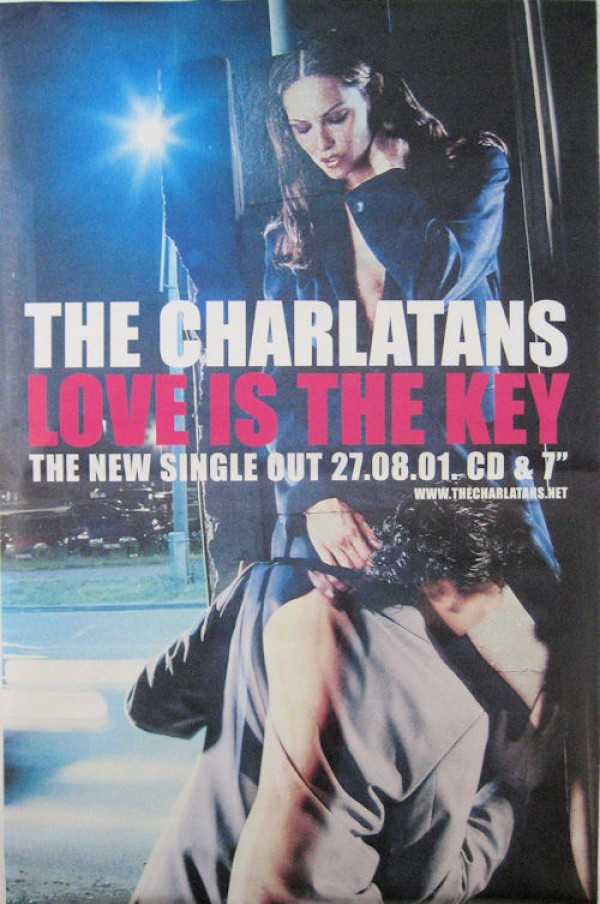 Charlatans Love Is The Key Giant Promo Poster
