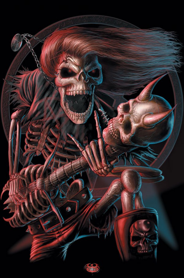 Spiral Bad To the Bone Poster