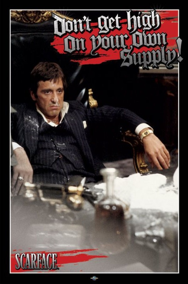 Scarface Cocaine Poster