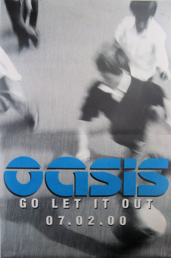 Oasis Go Let It Out Giant promo Poster
