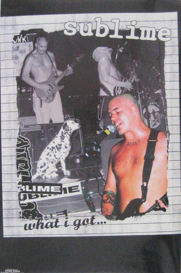 Sublime What I Got  Poster