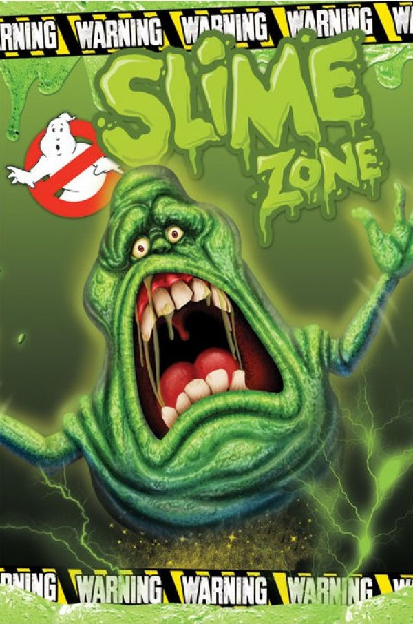 Ghostbusters Slime Zone Poster