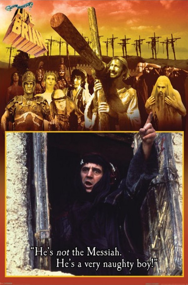 Monty Python Life Of Brian (Naughty Boy) Poster
