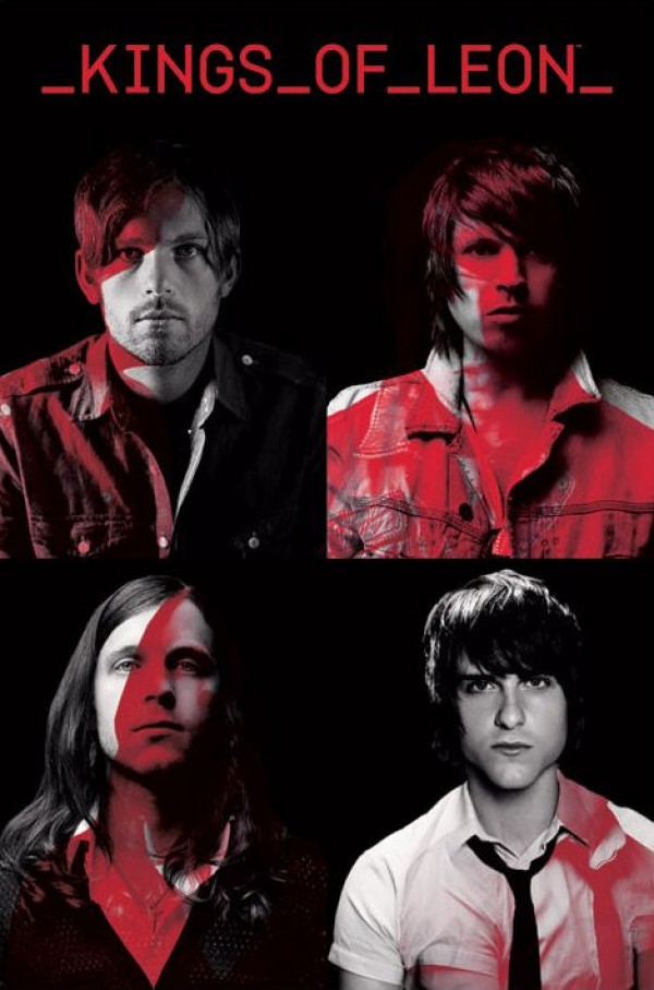 Kings Of Leon Portraits Poster