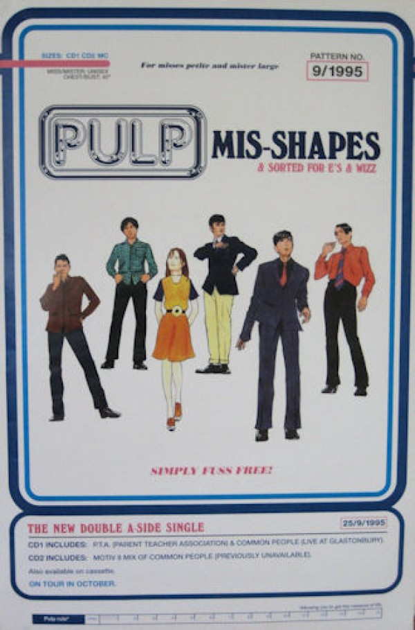 Pulp Mis-Shapes Promo Poster