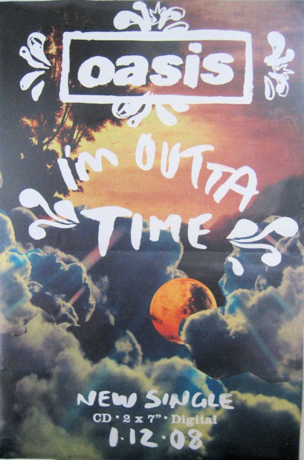 Oasis Outta Time Giant Promo Poster
