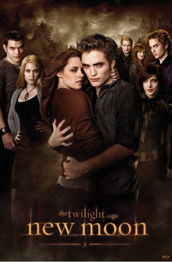 Twilight New Moon Cullens Poster
