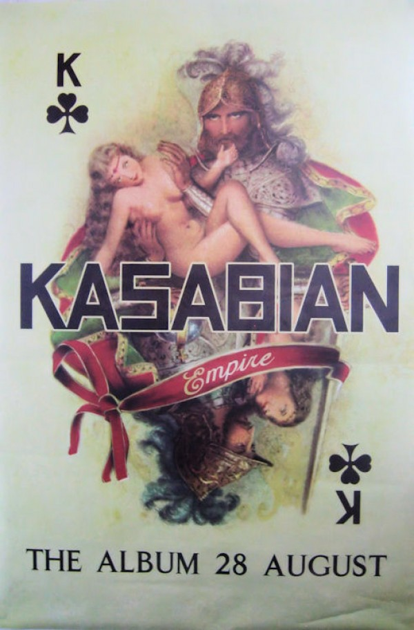 Kasabian Empire Giant Promo Poster