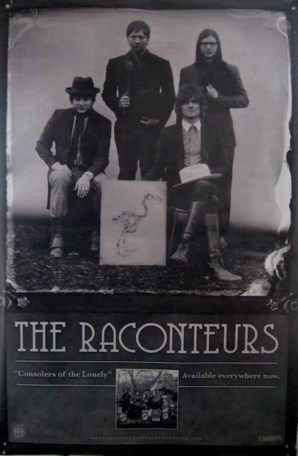 Raconteurs Consolers Of The Lonely Giant Promo Poster