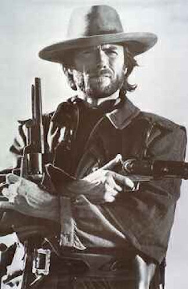 Clint Eastwood Cowboy Poster
