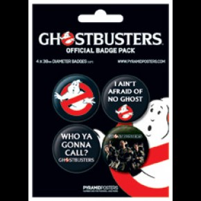 Ghostbusters Badge Pack