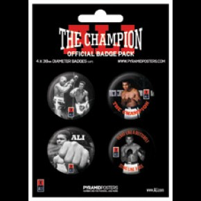 Muhammad Ali Badge Pack